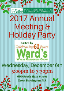 2017 Annual Meeting & Holiday Party @ Ward's Nursery | Great Barrington | Massachusetts | United States