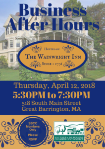 Business After Hours hosted by The Wainwright Inn @ The Wainwright Inn | Great Barrington | Massachusetts | United States
