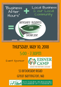 Business After Hours at the Berkshire Business Showcase @ Eisner Camp | Great Barrington | Massachusetts | United States