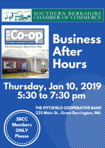 Business After Hours @ Pittsfield Co-Operative Bank