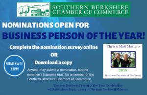 Deadline to Nominate a Business Person of the Year