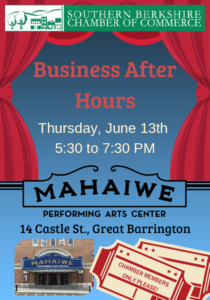 Business After Hours @ Mahaiwe Performing Arts Center