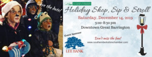 Holiday Shop, Sip & Stroll @ Downtown Great Barrington