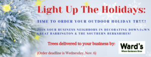Deadline to Order Holiday Tree