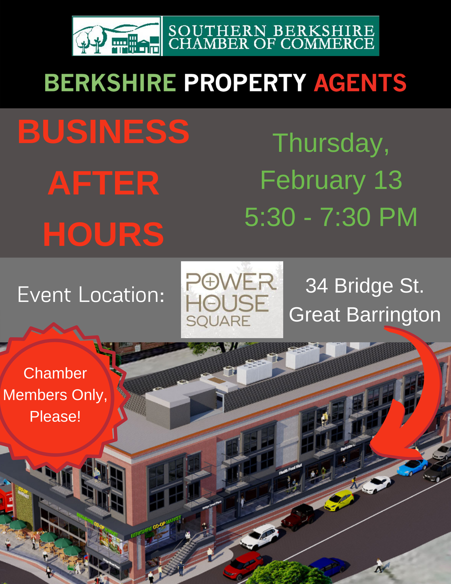Business After Hours @ Powerhouse Square