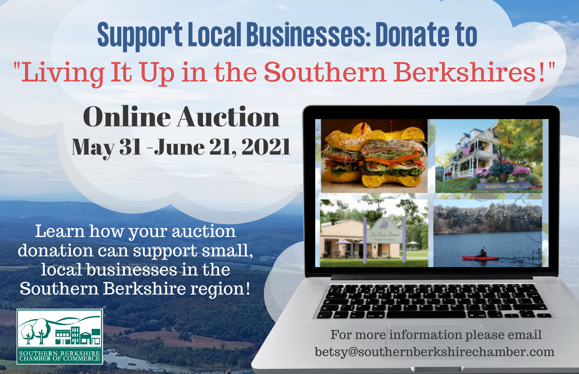 """Living It Up in the Southern Berkshires"" Online Auction"